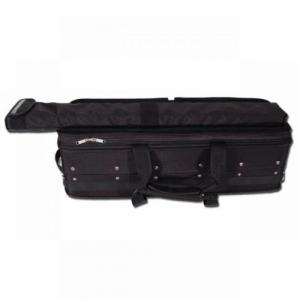 Riboni 220CS Doppel-Violinkoffer mit externem Bogenetui