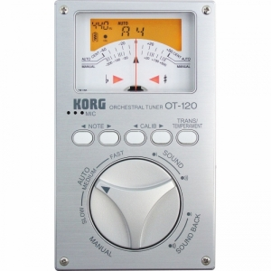 Korg OT-120 Hight End Chromatic Tuner inkl. Tasche