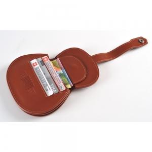 Moola klassische Gitarre nature Echt Leder