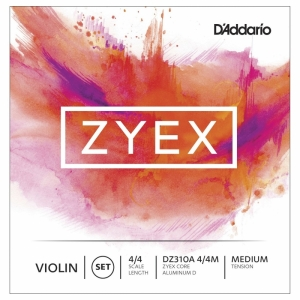 DAddaro Zyex Violine medium Satz (D-Alu)