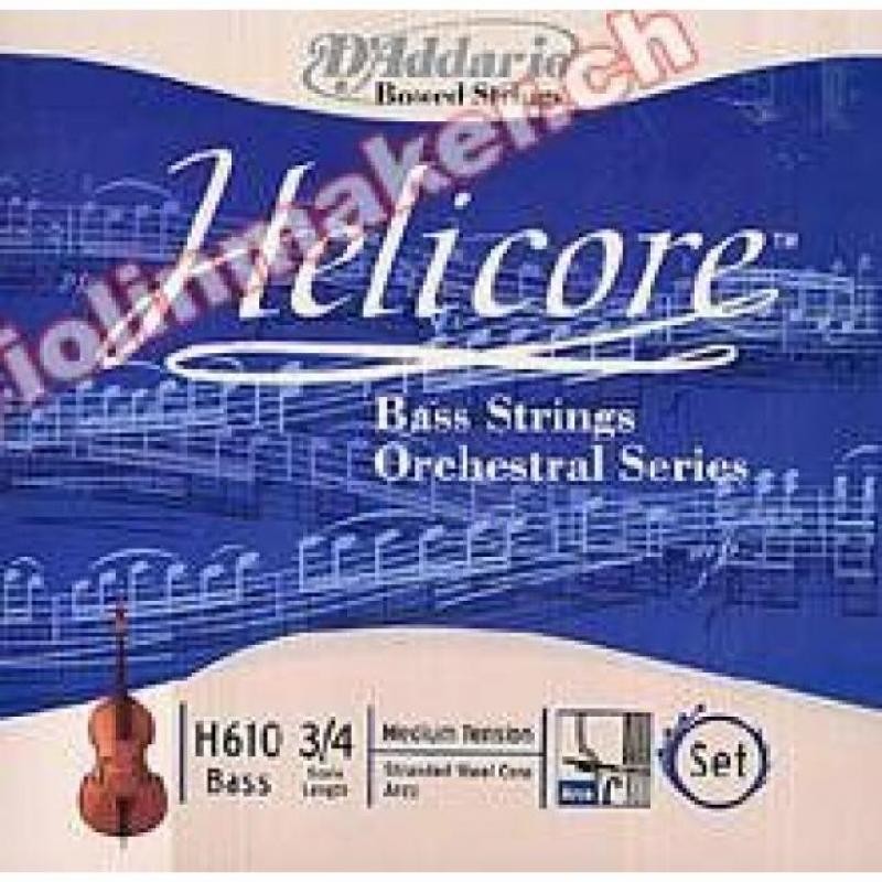 Helicore Bass 3/4 medium