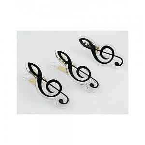 Klammer Violinschlüssel schwarz