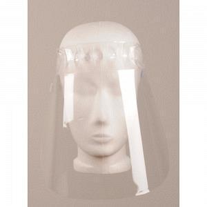 Protection du visage entièrement transparente